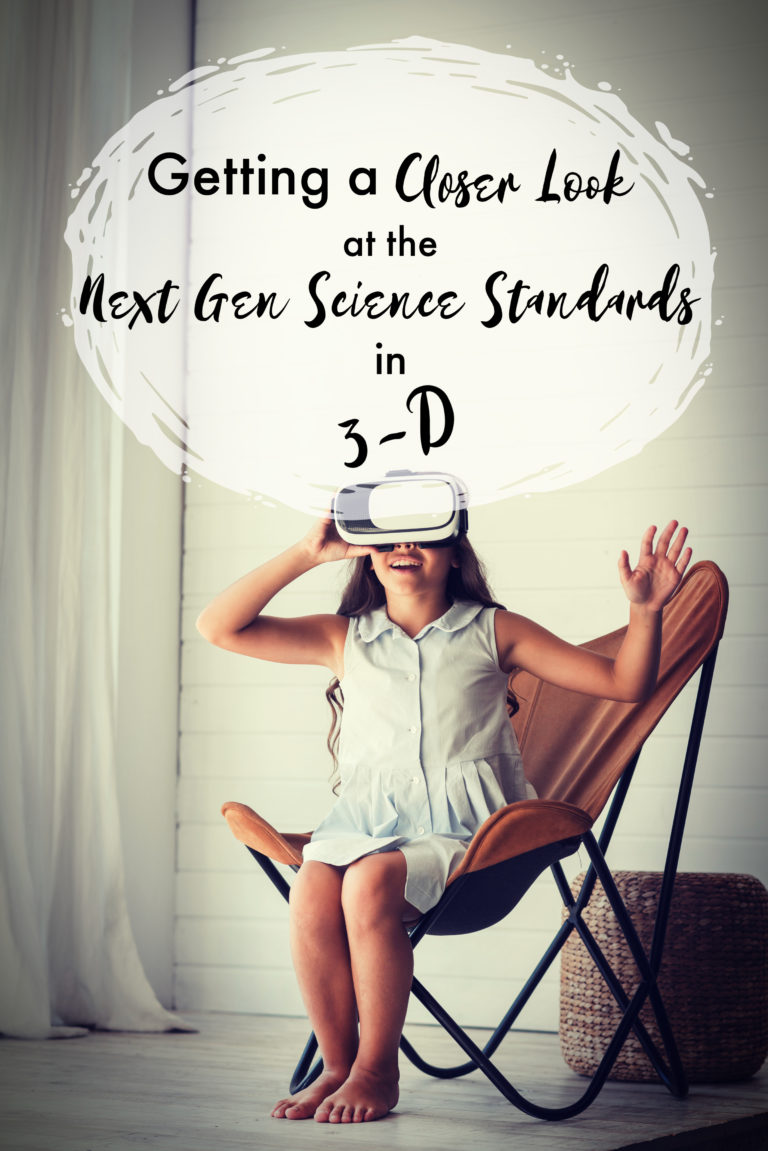 Looking at the 3 Dimensions of the Next Gen Science Standards