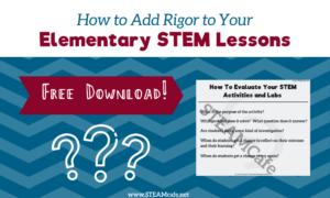 Elementary STEM Lessons